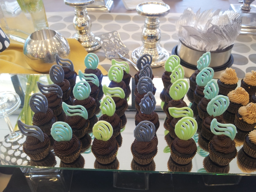 Minicupcake display