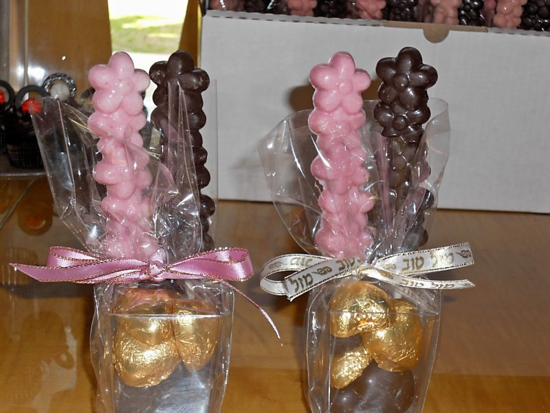 Chocolate Lolipop Flowers