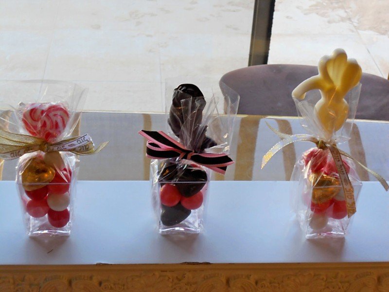 Chocolate Lollipop favor 2