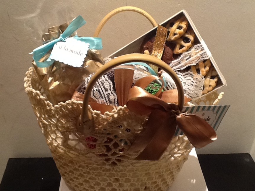 Croched Basket Hotel Gift 2